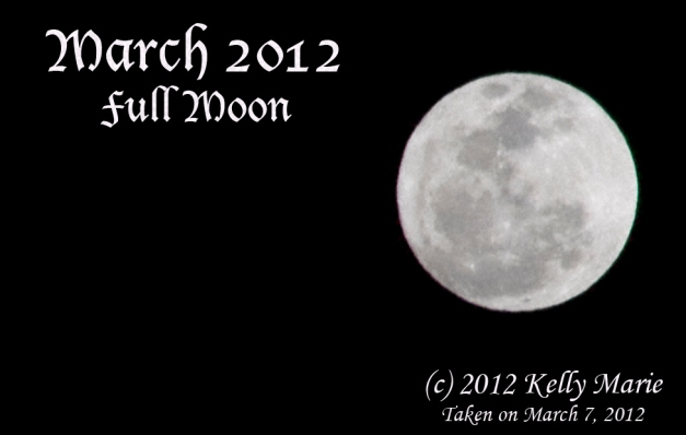 March Full Moon