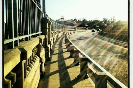 THE BRIDGE OF BROKEN DREAMS: PERSONAL CHALLENGE, DAY TWO(9.18.12)